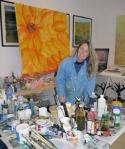 Steffi Goddard in the Studio