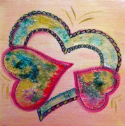 It's Party Time LoveHug Heart Art