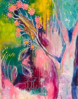 Intuitive Art - Almond Blossom