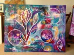 Intuitive Art - Intuitive process painting