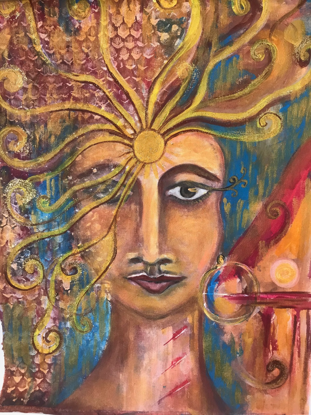Hathor - The Sun Goddess