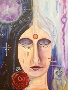 Vortex Healing Goddess