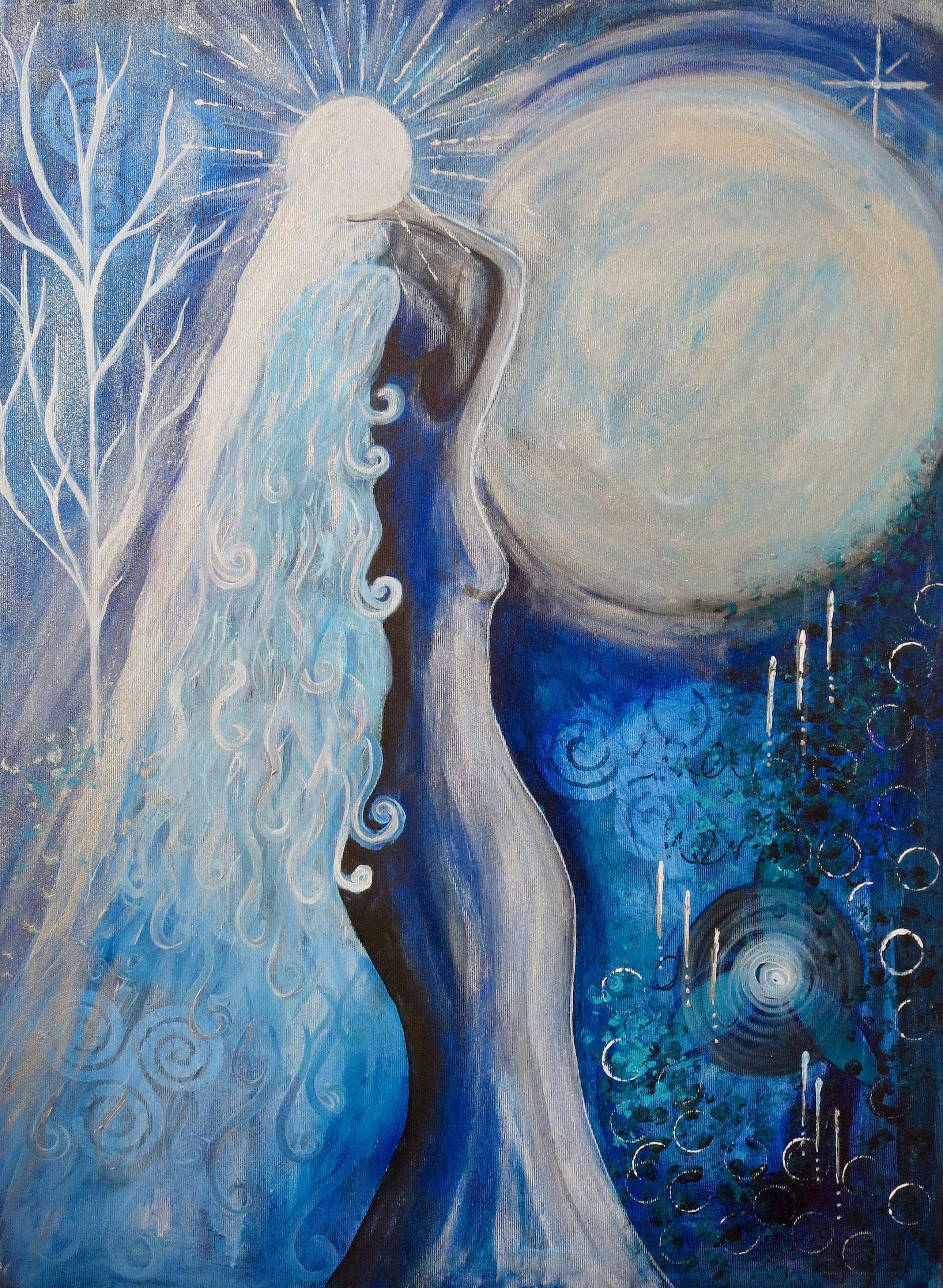 Goddess Selene - The Blue Moon Goddess