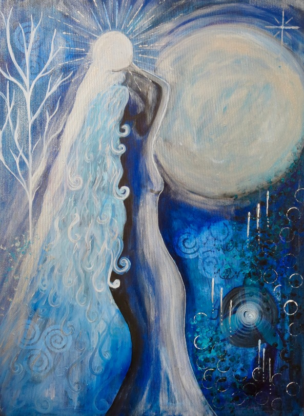 Goddess Selene - The Blue Moon Goddess