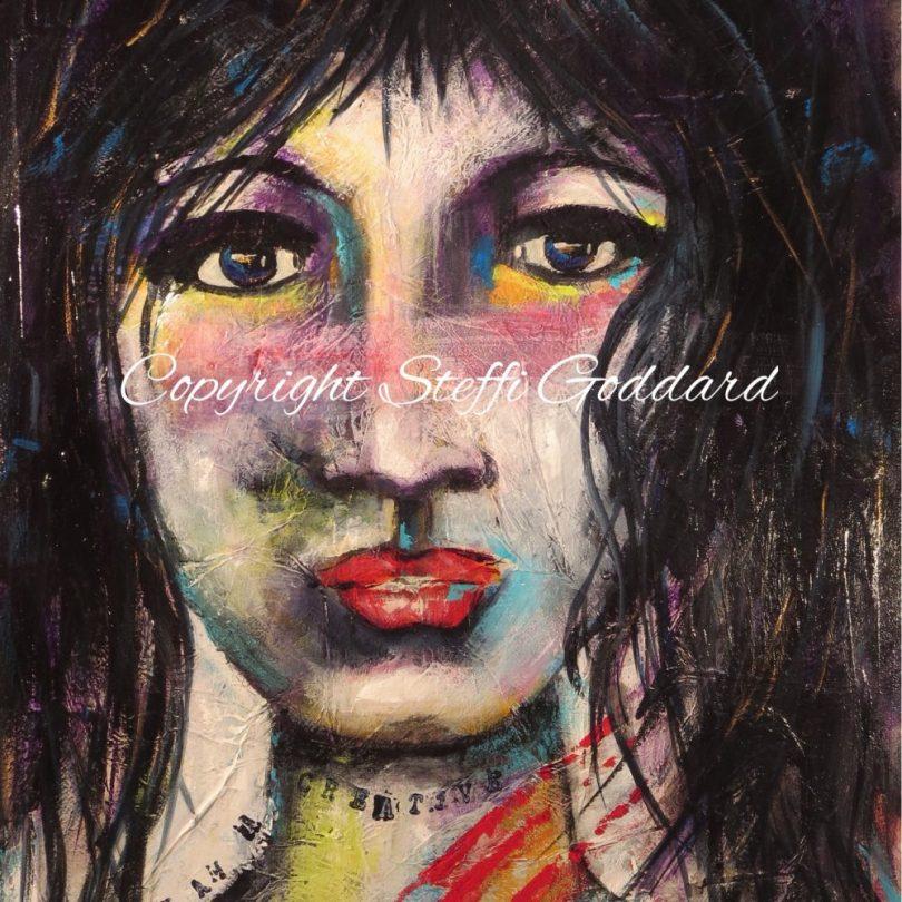 I AM A Creative Adventurer Warrior Women painting